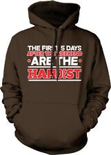 The First 5 Days After Weekend Are Hardest Five Work Lazy Week Hoodie Sweatshirt