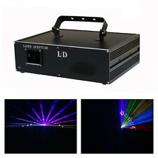 New 2000mW 2W FULL COLOR RGB ILDA DJ Stage Laser Light Show Systerm