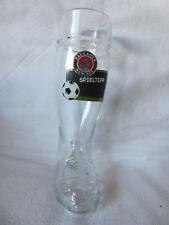 Paulaner Glas, Bierstiefel, Fussballstiefel