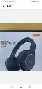 Vidvie Highquality Heavy Bass smart Bluetooth Wireless Headset (BBH2106 )New