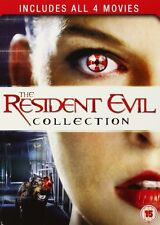 RESIDENT EVIL COLLECTION 1 2 3 4 1-4 Quadrilogy Movies Boxset NEW DVD