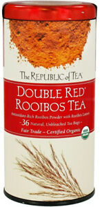 Double Red Rooibos Tea by The Republic of Tea, 36 tea bags