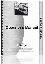 Massey Ferguson 2200 Forklift Operators Manual