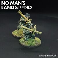 Pro Painted WW2 German Panzershrek AT Team - 28mm 1/56 - Bolt Action