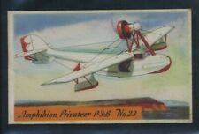 1936 F-277-2 Heinz Famous Airplanes Card #23 Amphibian Privateer P-3-B