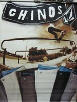 VOLCOM skateboard CHIMA FERGUSON double sided BIG Dealer BANNER New Old Stock