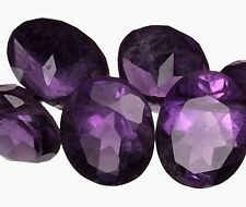 ONE PC - 6 mm Amethyst Russian Sim Diamond BRILLIANT CUT (0.8 carat)
