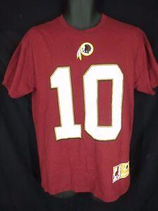 Washington Redskins Robert Griffin III Mens Sizes S/M Majestic Shirt
