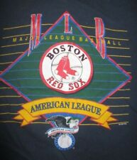 Vintage 1993 Salem Sportswear BOSTON RED SOX American League MLB (LG) T-Shirt