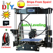 2017 FDM Classic Aluminium Extrusion 3D Printer kit Large Printing Size Auto lev