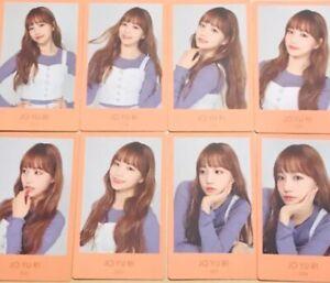IZ*ONE IZONE JPN 1st Fan Meeting Official Photocard 17-24 JO YU RI YURI All 8set