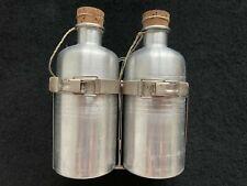 Retro Rennrad Trinkflaschen mit Halter - Eroica
