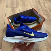 Nike Women's Air Zoom Pegasus 36 Prm Trainers Size UK 7.5 EUR 42 Blue BQ5403 400