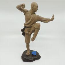 "Pottery Kung Fu Martial Arts Statue C 11 1/2  x 8 x 4"""