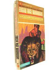 Burroughs' TARZAN AND THE GOLDEN LION, 1st Ballantine Printing, F739, 1963