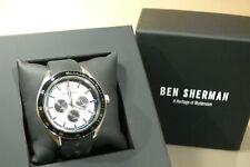 Ben sherman mens gents wrist watch stainless steel silicon strap wb011w