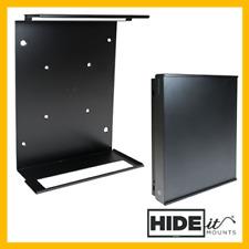 HIDEit X1X Xbox One X Vertical Wall Mount Bracket (Black) HIDE IT Display