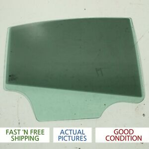2012 CHEVROLET CRUZE REAR RIGHT PASSENGER SIDE DOOR WINDOW GLASS OEM