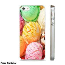ICE CREAM SCOOP DELICIOUS FUN CASE FITS  IPHONE 4 4S 5 5S 5C 6 6S 7 8 SE PLUS X