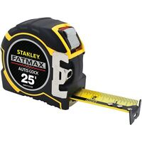 STANLEY FMHT33338L FATMAX 25ft Auto-Lock Tape Measure