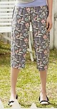 Women's Export Rayon Print Cropped Pants SG555412  5pc