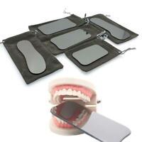 5* Dental Intraoral Orthodontic Photographic Glass Mirror S Rhodium 2-sided J4F0