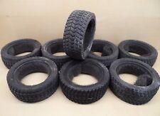 8 X Rally banda de rodadura de neumáticos W/inserts 1/10 trickbits tb4260 en carretera (dos conjuntos completos)