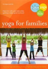 Yoga for Families Connect With Your Kids (Ingrid Von Burg) New DVD R4