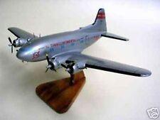 B-307 TransWorld TWA Boeing 307 Airplane Mahogany Kiln Dry Wood Model Small New
