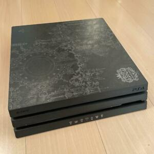 Used SONY PlayStation 4 Pro Console KINGDOM HEARTS LIMITED EDITION No box