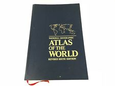 National Geographic Atlas Of The World Revised Sixth Edition 1992