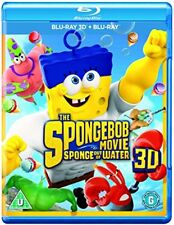 The Spongebob Movie Sponge Out of Water [Bluray 3D  Bluray] [DVD]