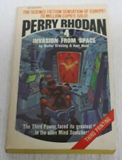 Perry Rhoda #4: Invasion From Space by K. H. Scheer & Walter Ernsting 1970, Ace