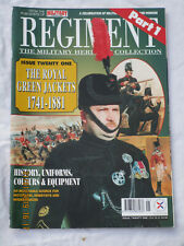 REGIMENT MAGAZINE: Royal Green Jackets PART 1, 1741-1881,No. 21,von 1997