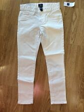 New w/Tags*GAP Girl's Brushed Khaki Pants*Size 6*Off-White/Ivory Frost