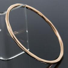 Ippolita Bracelet 18K Rose Gold Glamazon Squiggle 3mm Slide On Bangle