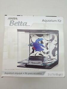 Marina Betta Fish Aquarium Kit: Small | 2L (PET49)