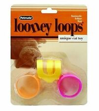 Looney Loops Cat / Kitten Toy Great for Cats Who Love to Bat Toys