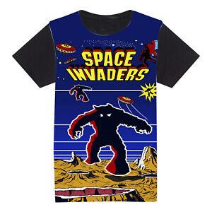 Space invaders, retro arcade t-shirt, alien tee