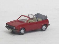 VW Golf I cabrio en hellbraunrot, o. OVP, Wiking, 1:87