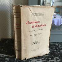 Eugenio Lassalle Cómicos Comediantes Y Amigos El Teatro Sus Posavasos Duty 1919