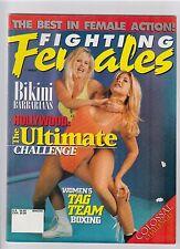 Fighting Females magazine Winter 1997 wrestling boxing