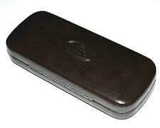 Fossil Eyeglasses Case Sunglasses Storage Authentic Original OEM Hard Brown