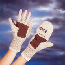Mens/women Thermal Thinsulate Freedom Mittens or Fingerless All in 1 Gloves