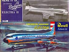 DECALS [REPRODUCTIONS] ONLY: REVELL1957  LOCKHEED ELECTRA or '62/'63 LA DODGERS