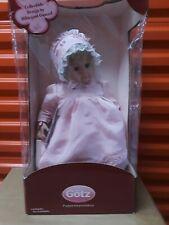 New Gotz Hildegard Gunzel Baby 2007 Doll Meike
