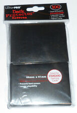 Ultra Pro 100 Deck Protector BLACK CARD SLEEVES for mtg Magic the Gathering game