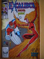 Excalibur n°20 1990 Captain Britan vs Phoenix ed. Marvel Comics  [G.141]
