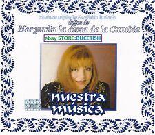 Margarita La Diosa de la Cumbia Exitos Nuestra Musica 3CD New Nuevo Box set