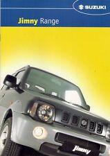 SUZUKI JIMNY 2003-04 UK Opuscolo Vendite sul mercato immobiliare di modalità O2 SOFT TOP